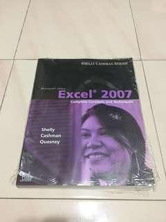 🚚 *$12*Excel 2007: Complete Concepts & Techniques