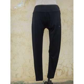 🚚 正品 PUMA 黑色 彈性 運動內搭褲 Size: S