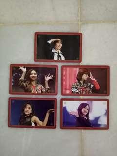 TWICE ONCE BEGINS DVD Photocard Photo card