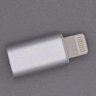 Micro USB to Apple lighting adaptor