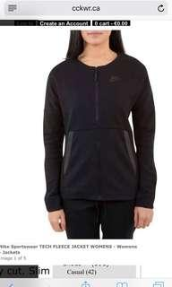 Nike tech fleece jacket women size XS