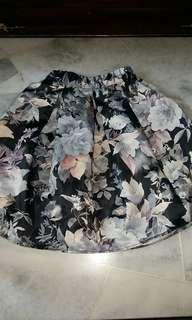 Flowery Midi Skirt #POST1111