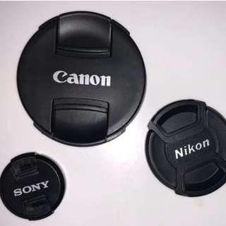 Lens cap (Various sizes and free postage)