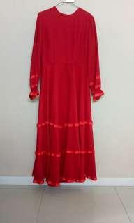 Gamis dress panjang