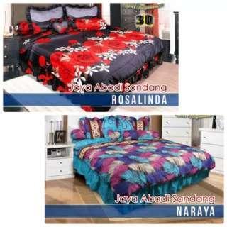 Bedcover set motif merk california