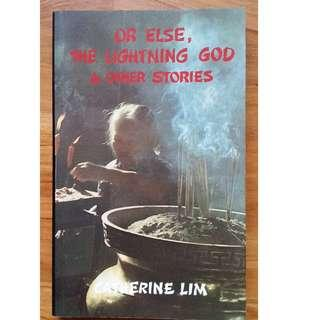 Or Else, the Lightning God & Other Stories #blessing