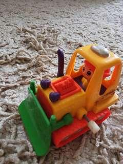🚚 Bull dozer toy  with winding