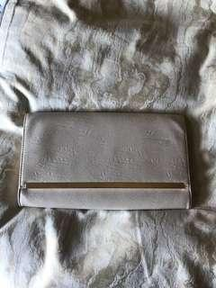 Colette Nude/Gold Clutch (large)