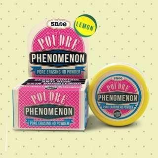 Poudre Phenomenon Pore Eraser HD Face Powder Lemon