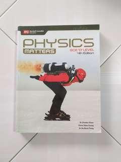 Physics Matters Textbook Upper Secondary 3/4 Express Hodder