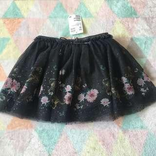 H&M Tiger Tulle Skirt
