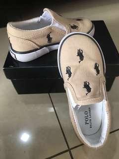 Polo Ralph Lauren canvas shoes