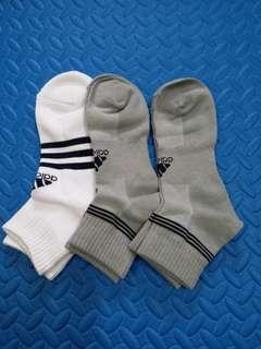 Adidas 運動襪3對