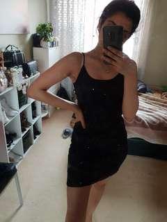 Sequins party mini dress
