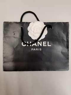 "Chanel 中紙袋 (9""x6.5""x2"")"