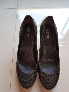 Itti & otto heels  #black #pre-loved