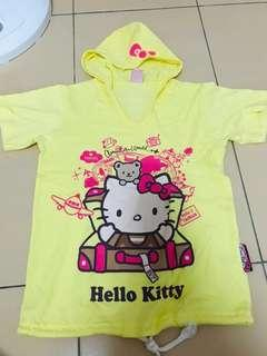 Hello Kitty Top with Hoodie