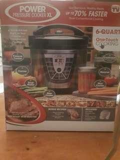 Pressure/Slow Cooker POWERFUL 6 QUART