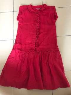 Chateau De Sable Dress & Red outerwear
