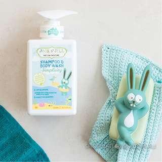 Jack N' Jill Simplicity Shampoo & Body Wash 300ml