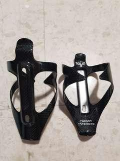 SOLID Real Carbon Bottle Cage