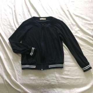 gtw black track jacket