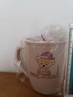 膠水杯(bear bear2)抽獎 交換禮物(E)款