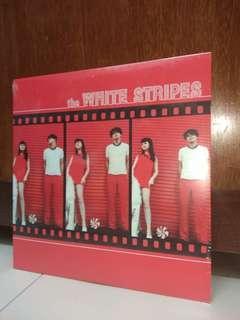 LP The White Stripes. 2009 Self titled. Piring hitam. Vinyl record