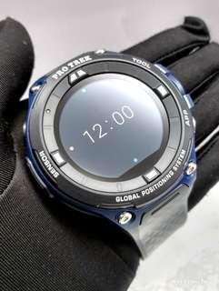 * FREE DELIVERY * Brand New 100% Authentic Casio ProTrek GPS Smart Watch Google Wear OS Outdoor Must Have Companion WSD-F20A-BU WSDF20