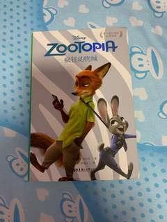 🚚 Zootopia Bilingual Book for Children 疯狂动物城双语儿童书