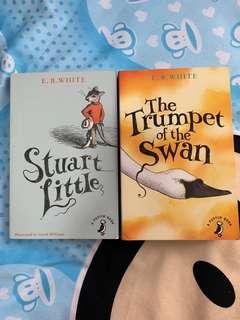 🚚 The Trumpet of the Swan and Stuart Little by E.B White