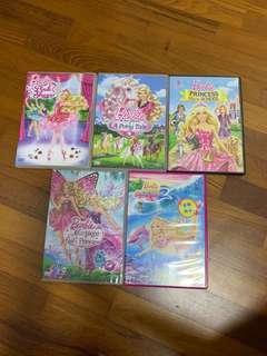 🚚 Barbie DVDs