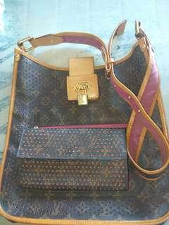 LV Bag with wallet