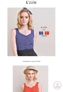 BN Lzzie Alissa Top Blue