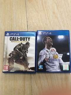 Fifa18+COD advanced warfare