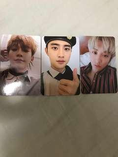 WTT/WTS EXO DON'T MESS UP MY TEMPO PHOTOCARD/ POSTCARD