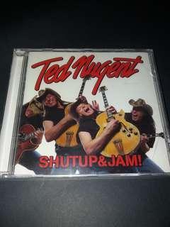 Ted nugent (shutup&jam) cd rock/guitar brand new cd sealed