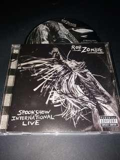Rob zombie (spockshow international live) cd metal