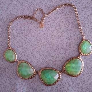 Sea Green Lovisa Necklace