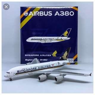 (Phoenix models) Singapore Airlines Airbus A380 (9V-SKU)