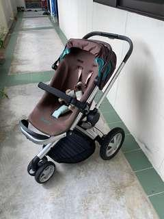 Quinny buzz stroller and maxicosi baby seat