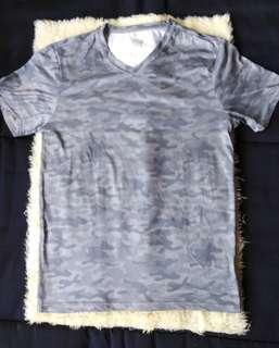 US Army print shirt