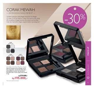 Giordani eyeshadow pallete