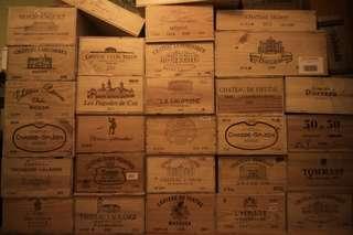大量紅酒箱 長期供應