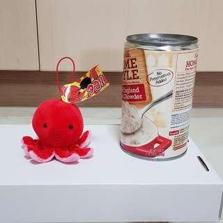 Octopus with elastic band