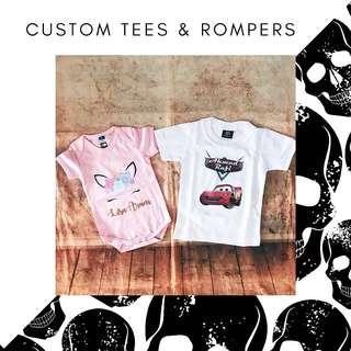 e76c7e034 Unicorn t-shirt with name family set