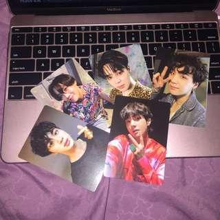 OFFICIAL BTS Photocards (frm.Lightstick V3)