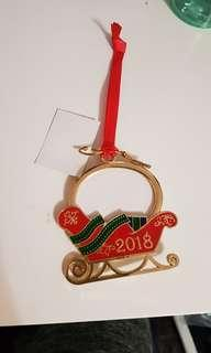 New! Sleigh Photo ornament
