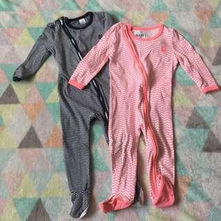 COTTON ON Sleepsuits Combo