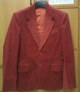 Maroon Suit